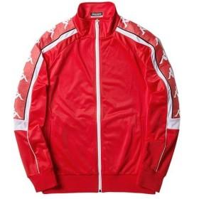 カッパ(kappa) メンズ ニットジャケット BANDA レッド K0852WK68M RD アウター カジュアルウェア スポーツウェア