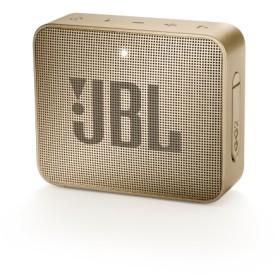 ブルートゥーススピーカー JBLGO2CHAMPAGNE シャンパン [Bluetooth対応 /防水] 【ビックカメラグループ独占販売】