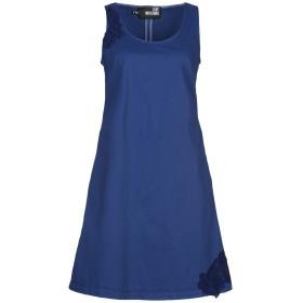 《セール開催中》LOVE MOSCHINO レディース ミニワンピース&ドレス ブライトブルー 40 コットン 97% / ポリウレタン 3%