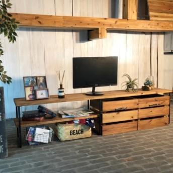TV17C男前な西海岸インダストリアル テレビボード テレビ台 ローボード I-Branch Aaron 西海岸