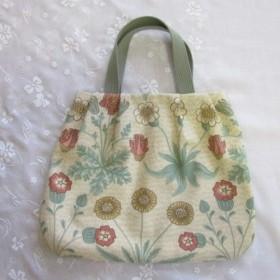 受注製作 ウィリアムモリスのバッグ 2
