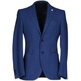 《期間限定セール開催中!》EDDY & BROS メンズ テーラードジャケット パステルブルー 46 バージンウール 60% / コットン 40%