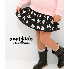 【セール開催中】ANAP KIDS(キッズ)ロゴハートヒラミニスカート