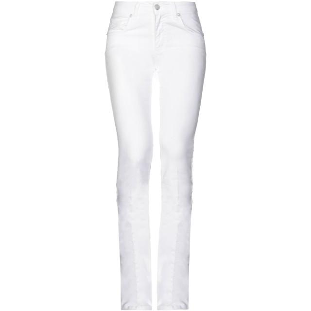 《セール開催中》NEXOS レディース パンツ ホワイト 40 コットン 98% / ポリウレタン 2%