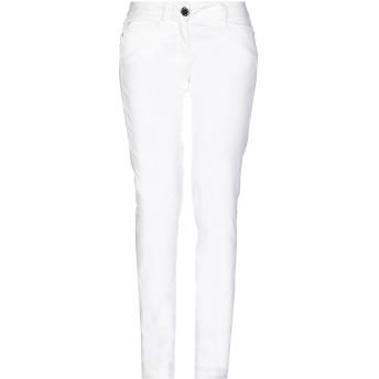 《9/20まで! 限定セール開催中》BLUGIRL FOLIES レディース パンツ ホワイト 40 コットン 98% / ポリウレタン 2%