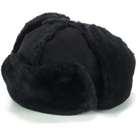 キャップ - Smart Hat Factry <秋冬新作>Rubenフェイクムートンパイロットキャップ ヤング 帽子