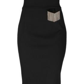 《送料無料》CAVALLI CLASS レディース 7分丈スカート ブラック 42 レーヨン 69% / ナイロン 25% / ポリウレタン 6%