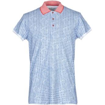 《9/20まで! 限定セール開催中》OBVIOUS BASIC メンズ ポロシャツ ブルー M コットン 100%