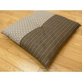 和の座布団しじら織り  いぶき 55×59cm 和風座布団 和座布団 シンプル 座布団 リビング 激安 和室 畳