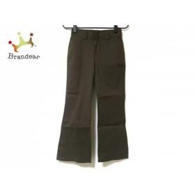 ニジュウサンク 23区 パンツ サイズ30 XS レディース ダークブラウン         スペシャル特価 20190801