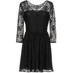 《セール開催中》BLUGIRL BLUMARINE レディース ミニワンピース&ドレス ブラック 46 ポリエステル 95% / ポリウレタン 5%