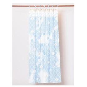 【Kahiko】パイナップルタイルカーテン ブルー