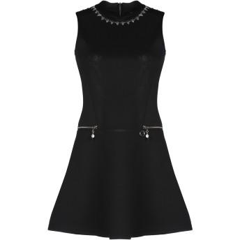 《セール開催中》MANGANO レディース ミニワンピース&ドレス ブラック M ポリエステル 95% / ポリウレタン 5%