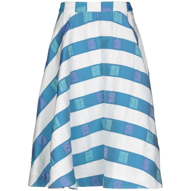 《期間限定セール開催中!》ANONYME DESIGNERS レディース 7分丈スカート アジュールブルー 38 ポリエステル 100%