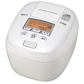 タイガー 5.5合炊き 炊飯器 圧力IH炊飯ジャー 熱封土鍋コーティング5層遠赤特厚釜 炊きたて JPC-B101-W ホワイト