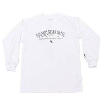 エックスティーエス(XTS)ジュニア DP WINNERS NEVER QUITE 長袖Tシャツ 751G8ES8730 WHT (Jr)