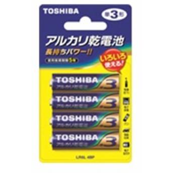 東芝 単3形アルカリ乾電池 4個パック LR6L 4BP 4904530026119 17-2089