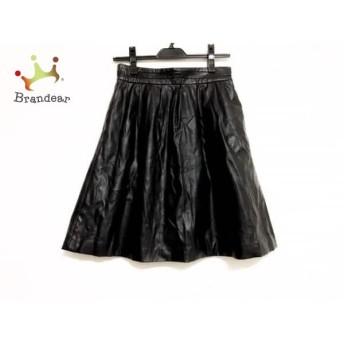 グーコミューン GOUT COMMUN スカート サイズ38 M レディース 黒                   スペシャル特価 20191028