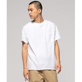 ビームス メン GOODWEAR / ポケット Tシャツ メンズ WHITE S 【BEAMS MEN】