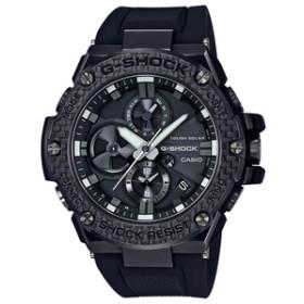 カシオソーラー電波腕時計G-SHOCKブラックGST-B100X-1AJF