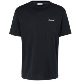 《期間限定セール開催中!》COLUMBIA メンズ T シャツ ブラック S コットン 100% North Cascades Short Sleeve top