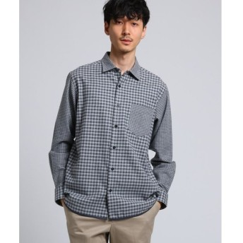 TAKEO KIKUCHI / タケオキクチ パイピングネルシャツ[ メンズ シャツ ネル ]