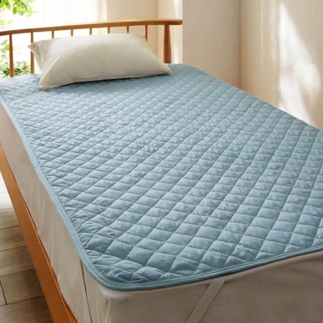 乾きやすい敷きパッド 「ブルー」