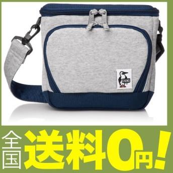 (チャムス) カメラバッグ Box Camera Bag・Sweat Nylon ヘザーグレーベーシックネイビー
