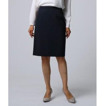 UNTITLED / アンタイトル [L]【洗える】ダブルクロスタイトスカート