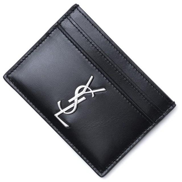 サンローランパリ SAINT LAURENT PARIS カードケース ブラック メンズ 485631-0sx0e-1000
