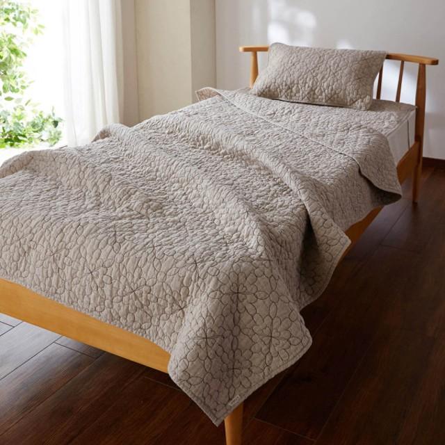 タオルケット キルトケット ハーフ ケット リネン 麻 麻100% フレンチリネン 100×140cm