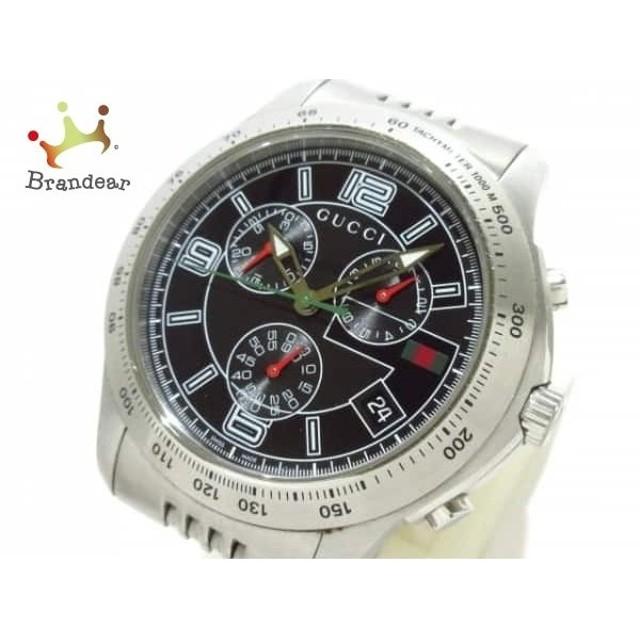 7e6a0cab28a7 グッチ GUCCI 腕時計 Gタイムレス クロノグラフ 126.2 メンズ クロノグラフ 黒 スペシャル特価 20190410
