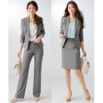 洗える3点セットスーツ(ジャケット+パンツ+タイトスカート)(選べる2レングス) 【レディーススーツ】通勤・社会人・リクルートスーツ,women's suits