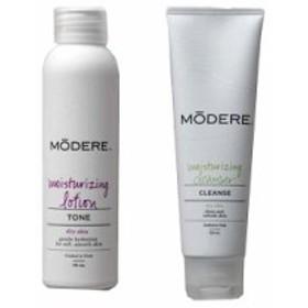 【20%還元】MODERE(モデーア) モイスチャライジングセット(ローション&クレンザー) [乾性肌用]