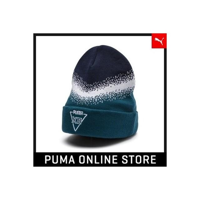 cc210a739418 プーマ PUMA PUMA X XO HOMAGE BEANIE 男女兼用 XO 帽子 ニット帽 2018年 ...