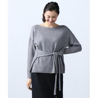 【50%OFF】 ICB Soft Wool Middle ウエストコンシャス ニット レディース ライトグレー系 S 【ICB】 【セール開催中】