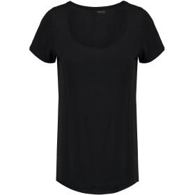 《期間限定セール開催中!》YUMMIE by HEATHER THOMSON レディース アンダーTシャツ ブラック XS レーヨン 94% / ポリウレタン 6%