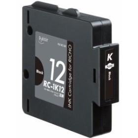 プレジール PLE-RC12B リコー RC-1K12 互換インクカートリッジ ブラック《納期約2週間》