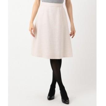 組曲 / クミキョク 【セットアップ対応】ラメループモールツイード スカート