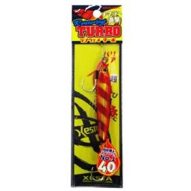 下田漁具 ランウェイターボ 40g 54.KZRGD(ケイムラゼブラアカキン)【ゆうパケット】