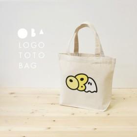 OBAロゴ キャンバストートバッグ Sサイズ