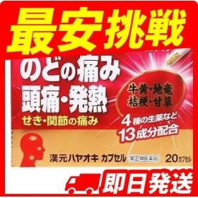 ハヤオキカプセル漢元 20カプセル 指定第2類医薬品