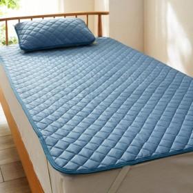 敷きパッド シングル 洗える 安い シンプル シーツ ベッドシーツ 布団カバー 接触冷感 ひんやり 夏用 100×200cm