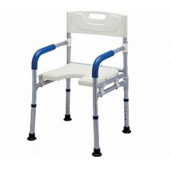 すま~いる コンパクト シャワーベンチ FCRS イーストアイ (介護用 風呂椅子 介護 浴室 椅子 折りたたみ) 介護用品