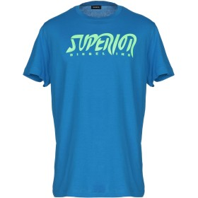 《期間限定 セール開催中》DIESEL メンズ T シャツ ブルー S コットン 100%