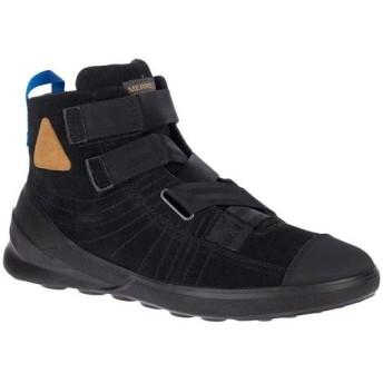 メレル(MERRELL) メンズ ウォーキングシューズ フラッシュアセントミッドスエード ブラック M95195 カジュアルシューズ スニーカー スポーツシューズ 靴