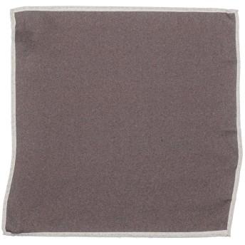 《9/20まで! 限定セール開催中》ELEVENTY メンズ スカーフ ダークブラウン ウール 100%