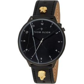 《期間限定セール中》THOM OLSON Unisex 腕時計 ブラック スチール / 真鍮/ブラス FREE-SPIRIT