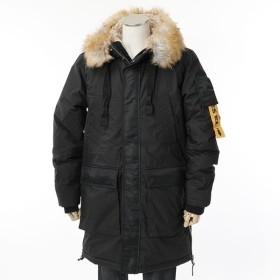 DIESEL ディーゼル 00SIIJ 0GAQD W-BULLION JAKET ファーボア フーテッド 中綿ジャケット ブルゾン 900 メンズ