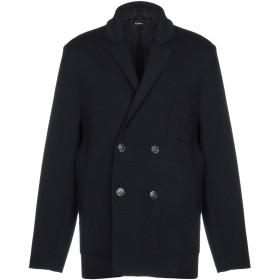 《期間限定セール開催中!》ALPHA STUDIO メンズ テーラードジャケット ダークブルー 52 ウール 100%